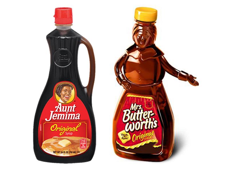 Mrs butterworth vs aunt jemima
