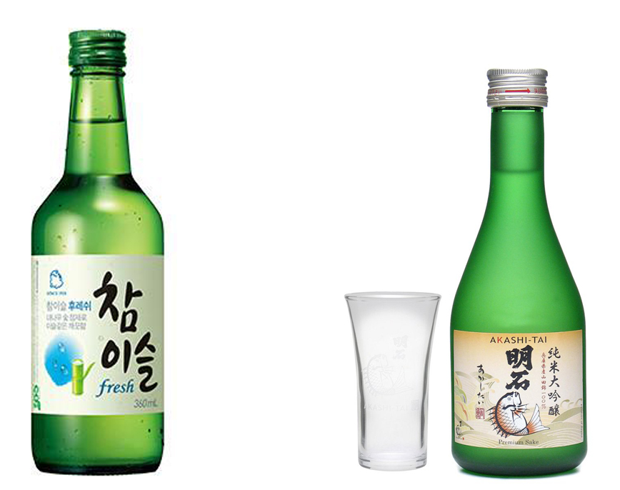 Soju vs Sake - and the winner is