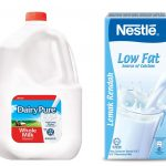 Whole Milk vs Low Fat